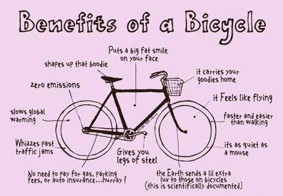 Benefits of a Bicycle 9