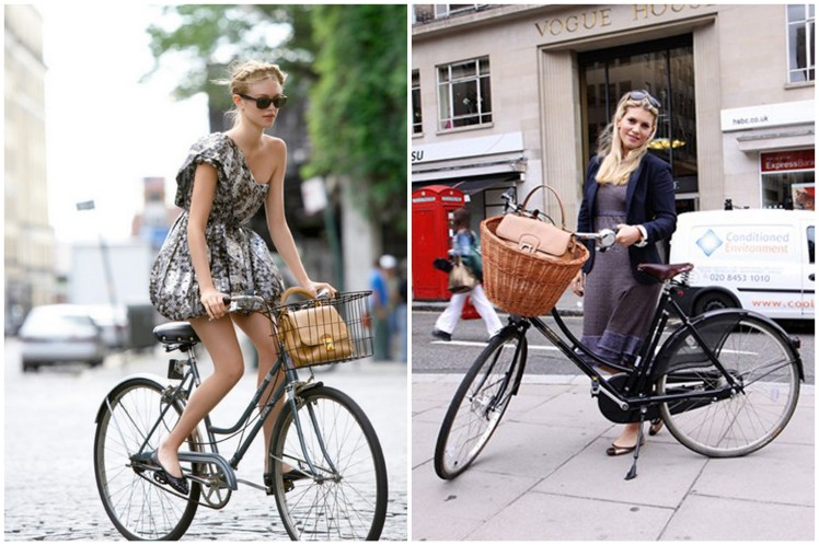 Bicycling Street Style