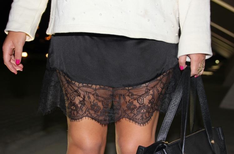 lace dress Zara