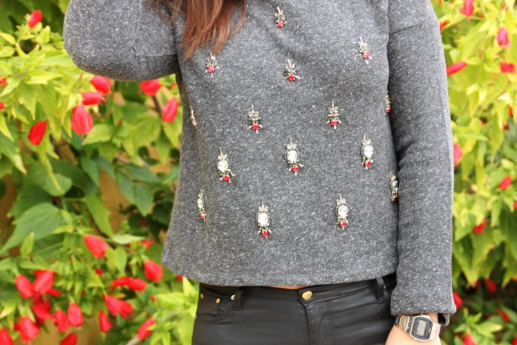 jeweled chandelier tshirt