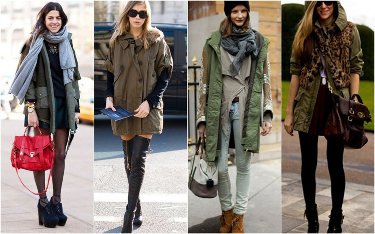 military jacket parka