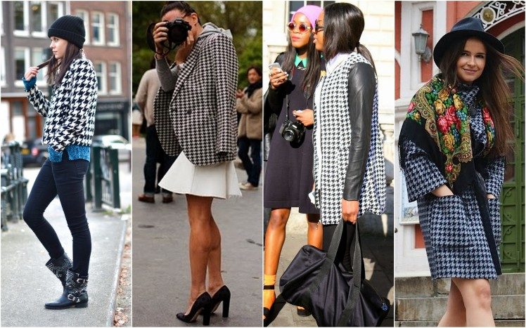 houndstooth check pata de gallo