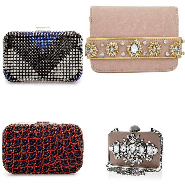 sequin clutches
