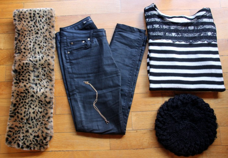 Stripes and animal print