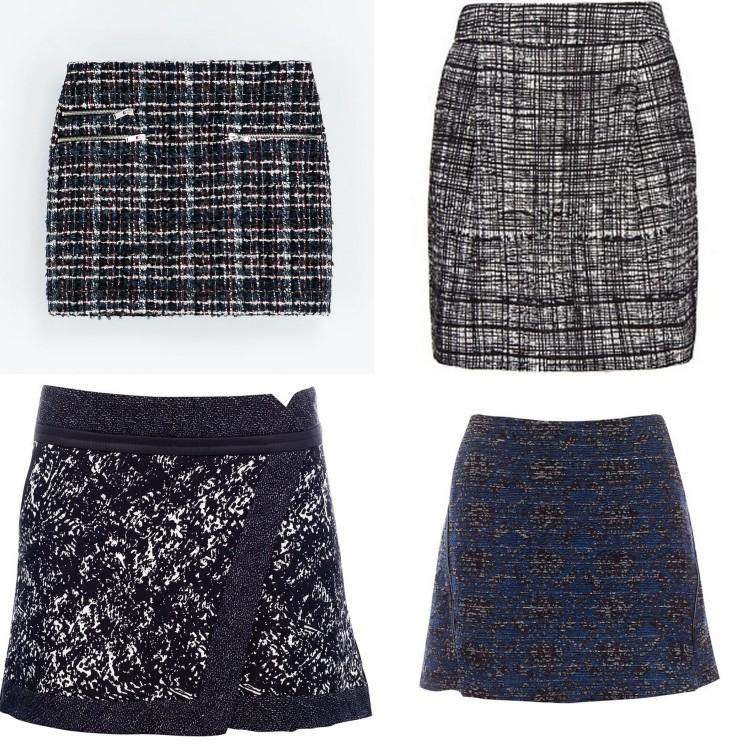 Christmas skirts