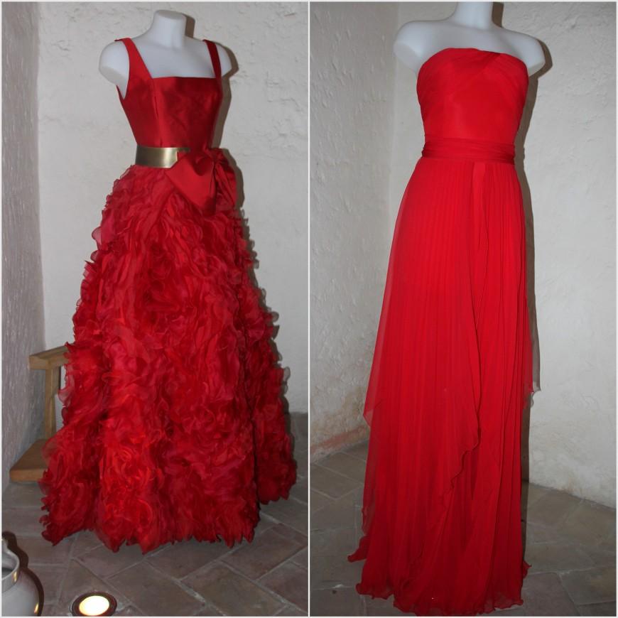 alex vidal vestido rojo