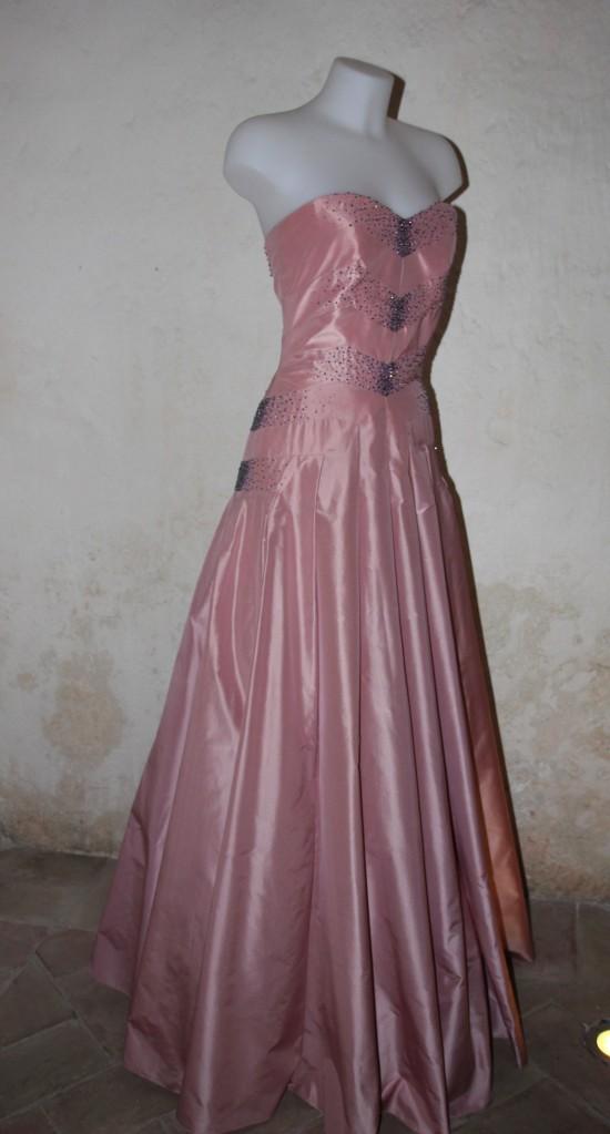 alex vidal vestido rosa