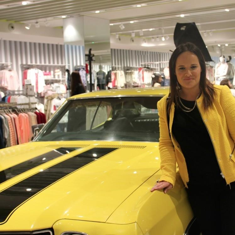 bershka i was here valencia evento coche