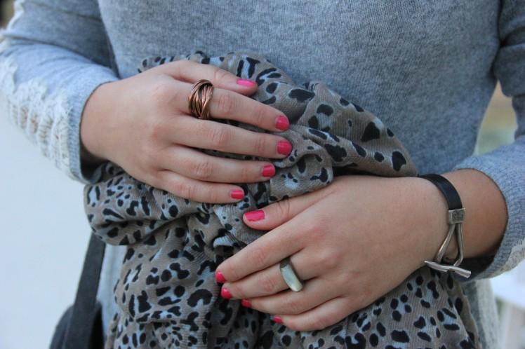 bufanda estampado animal leopardo_pulseras uno de 50