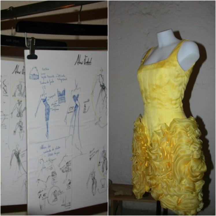 diseños alex vidal valencia fashion week