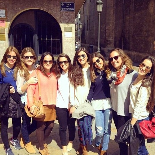 fallas with friends