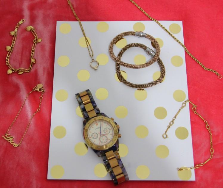 golden accesorioes