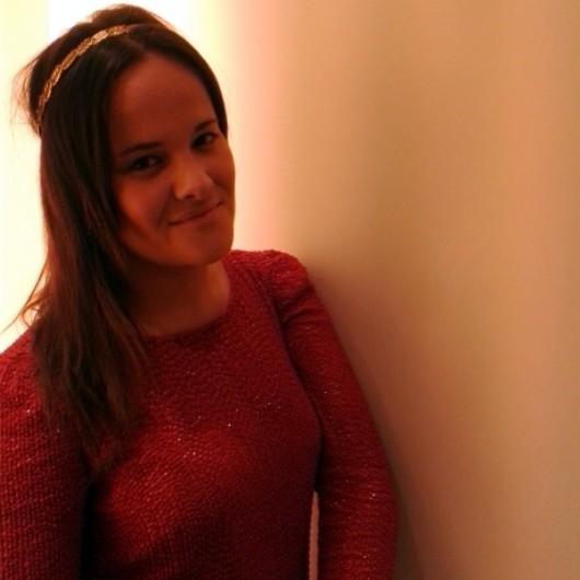 sequin red dress