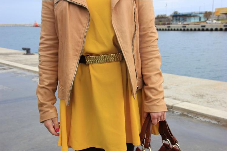 vestido amarillo primavera