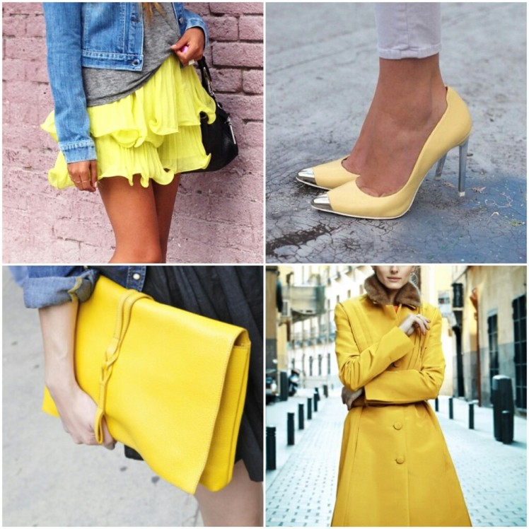yellow fashion inspiration