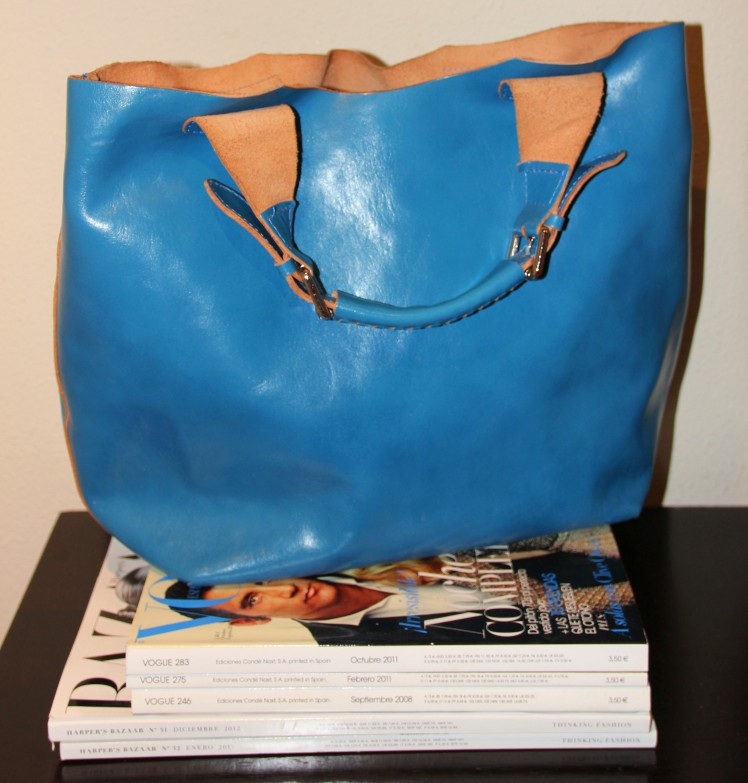 klein blue bag