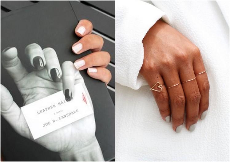 nails white