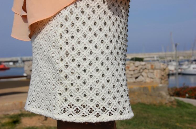 falda joya zara