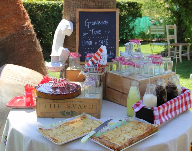 mesa de dulces postres