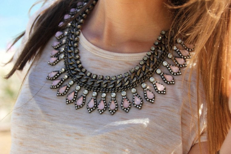 statement necklace zara