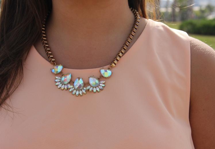 transparent necklace collar transparente