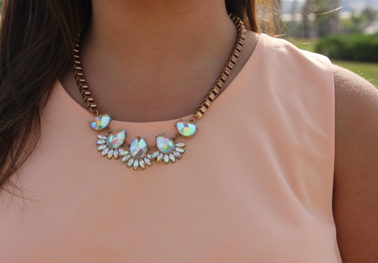 transparent necklace collar transparente