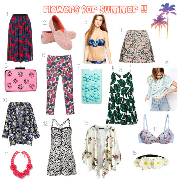 flores verano flowers clothes summer