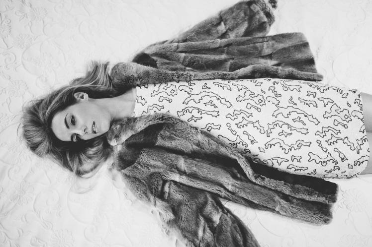 Sesión de fotos moda año 1970