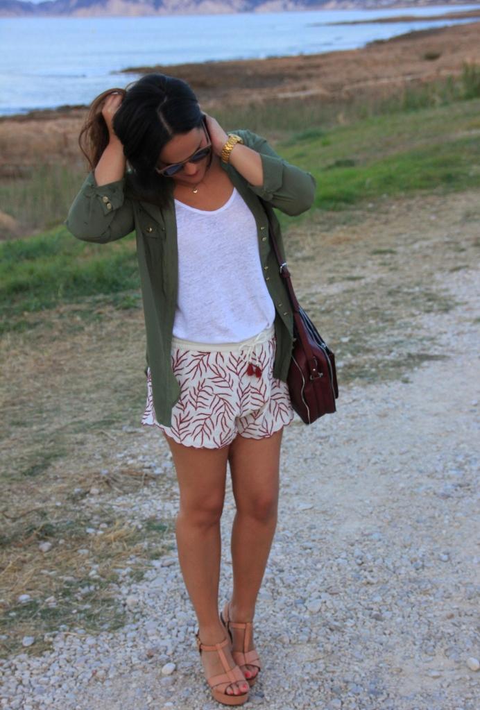 shorts pijama burgundy