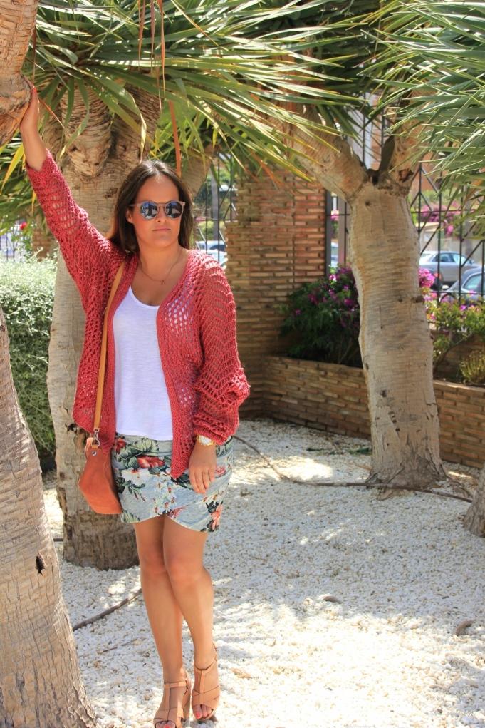 draped skirt zara fashion blogger