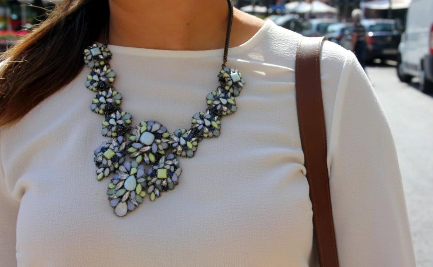 collar joya zara