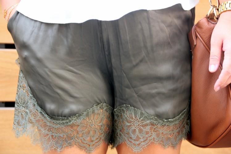 lace short h&m