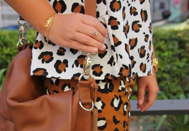 mezclando estampados leopardo