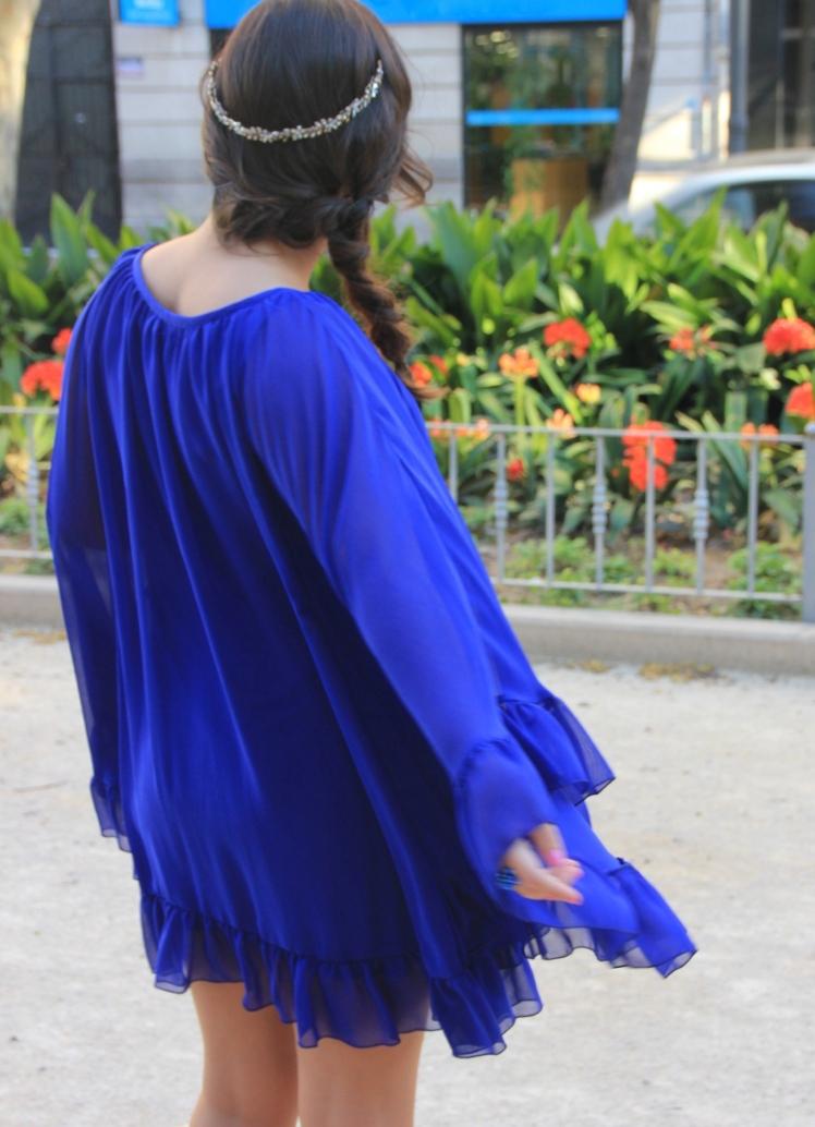 vestido azul coosy