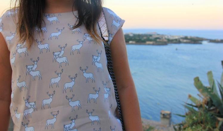 reindeers tshirt