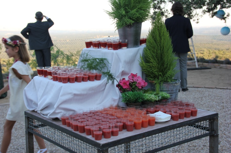 gazpacho wedding boda