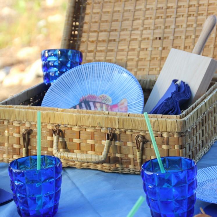 inspired sea picnic